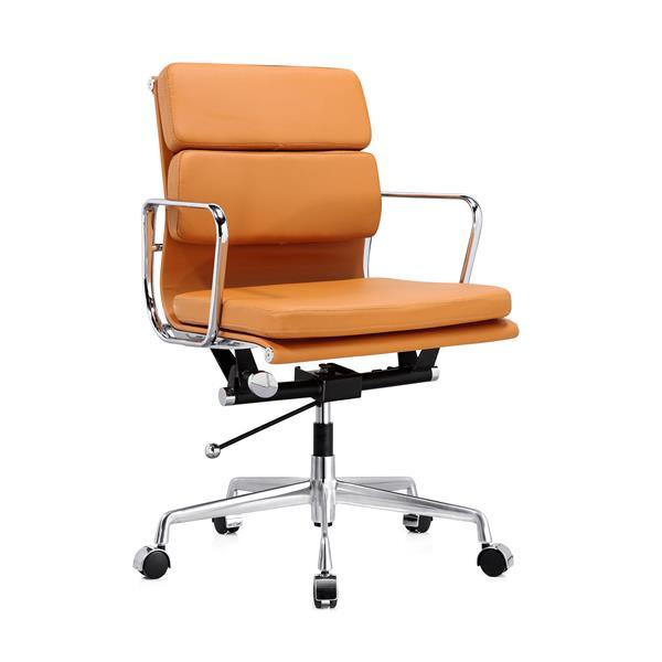 Plata Decor Lark Low Back Executive Office Chair - Tan