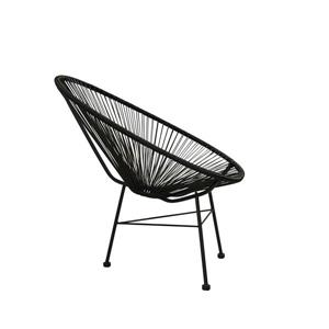 Plata Decor Acapulco Lounge Chair - Black chair and base