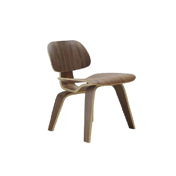 Plata Decor Plantain Dining Chair - Solid Wood - Brown