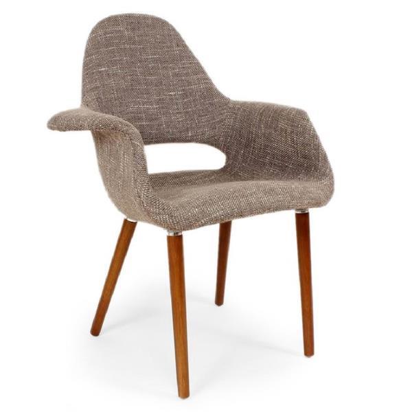 Plata Decor Organic Dining Chair - Brown