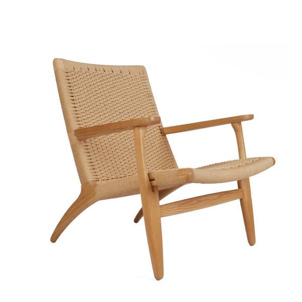 Plata Decor Ash Lounge Chair -  Natural