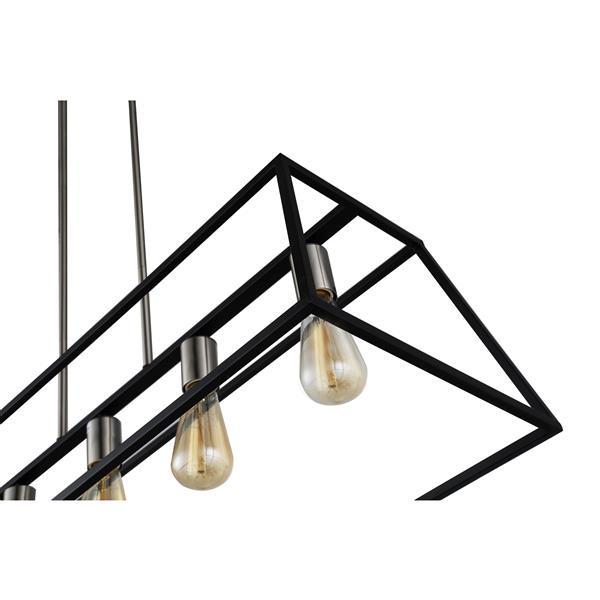 OVE Decors Agnes II LED Pendant Light - 1-Light  - Black