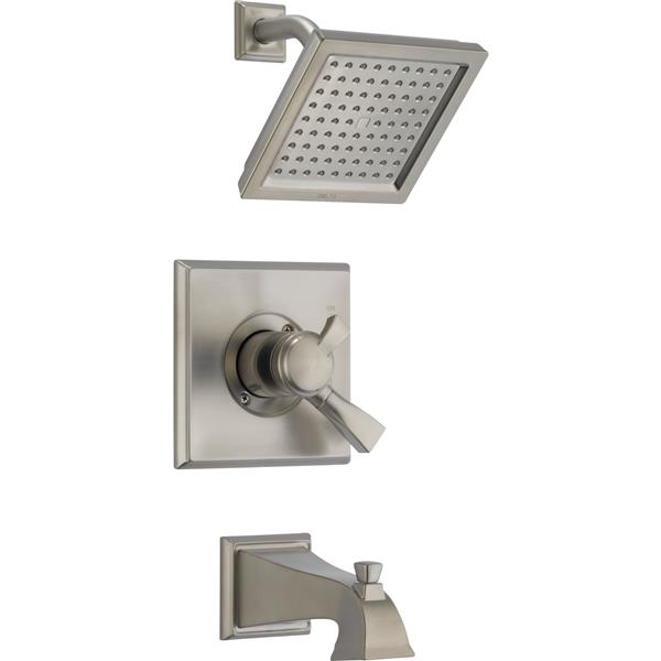 Delta Dryden 17 Series Bath and Shower Trim Set - Stainless Steel