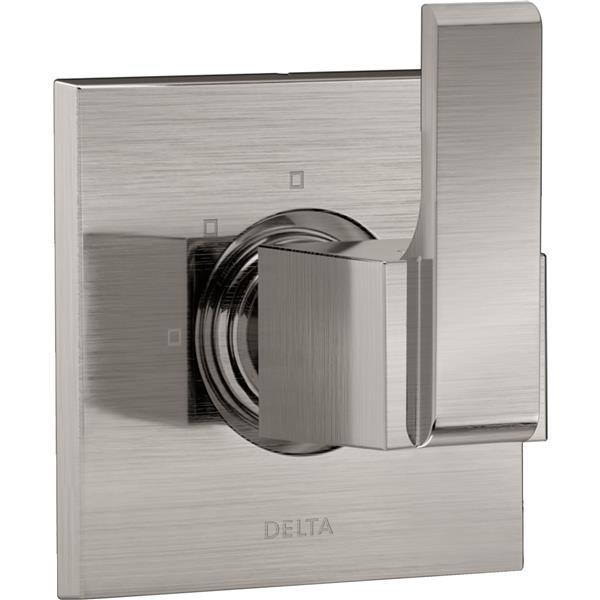 Delta Ara Diverter Trim - 3-Setting - 2-Port - Stainless Steel
