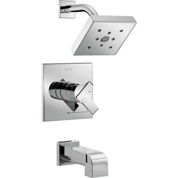 Delta Ara 17 Series Bath and Shower Trim Set - Chrome