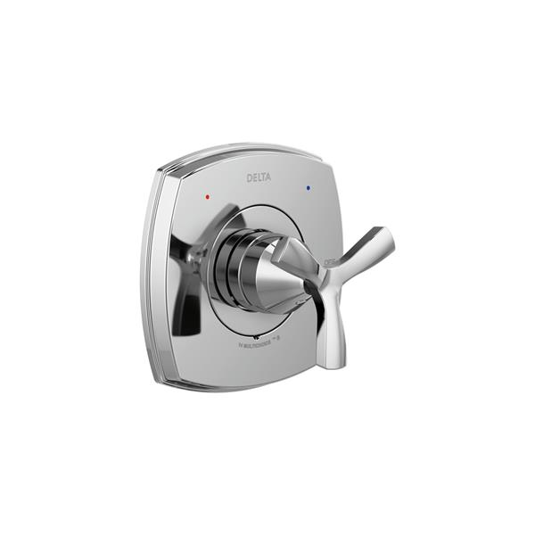 Delta Monitor®  13 Series Bath and Shower Faucet with Shower Head - Chrome