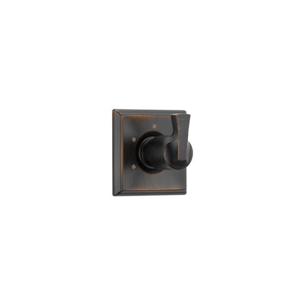 Garniture d'inverseur à 3 fonctions Dryden de Delta, 2 ports, bronze vénitien