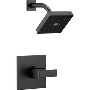Delta Ara 14 Series Shower Trim Set - Matte Black