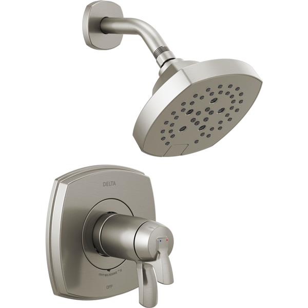 Delta Stryke 17 Thermostatic Shower Trim Set - Stainless Steel