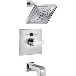 Garniture de douche Vero Série 14 de Delta, pommeau de douche intégré, bronze vénitien
