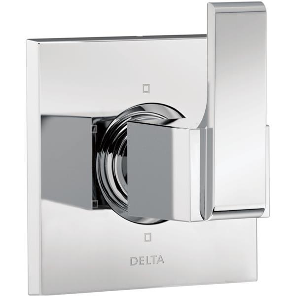 Delta Ara Diverter Trim - 6-Setting - 3-Port - Chrome
