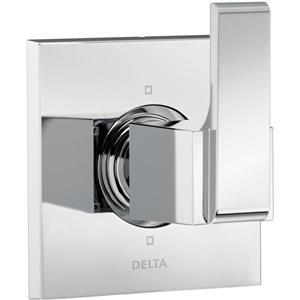 Garniture d'inverseur à 6réglages Ara de Delta, 3 port, chrome