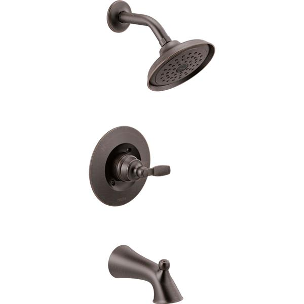Delta Woodhusrt Shower Faucet with Shower Head - Stainless Steel