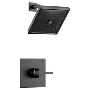 Delta Zura 14 Serie Shower Faucet with Shower Head - Matte Black
