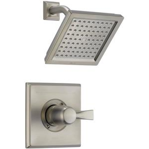 Delta Monitor® 17 Series Bath and Shower Faucet with Hand Shower - Stainless Steel