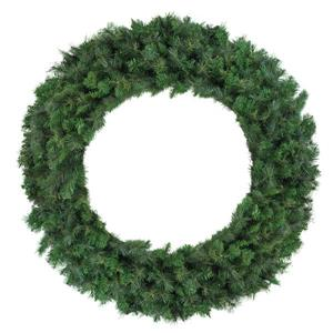 Northlight Mixed Canyon Pine Artificial Christmas Wreath - 60-in - Green