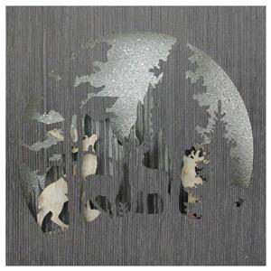 Northlight Winter Woodland Deer Christmas Shadow Box - 13.75-in