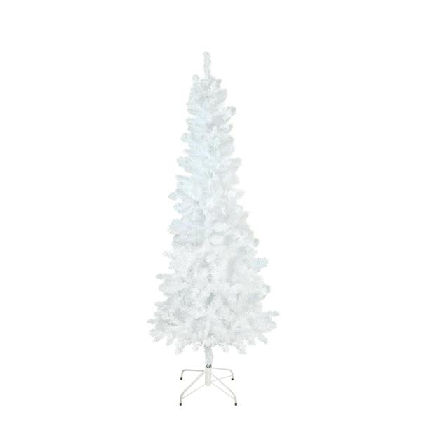 Northlight Spruce Pencil Artificial Christmas Tree - 6-ft x 29-in - White