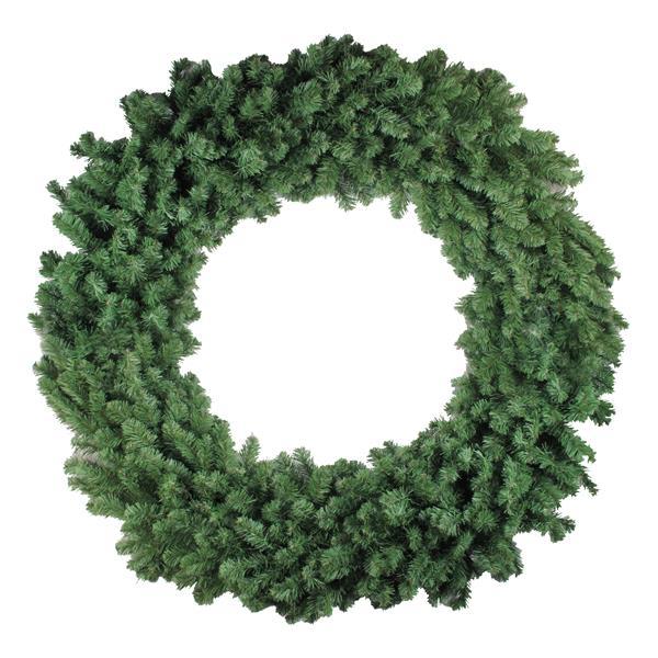 Northlight Commercial Size Colorado Pine Artificial Christmas Wreath - Green