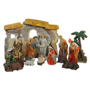 Northlight Traditional Religious Christmas Nativity Set - 13 Pieces