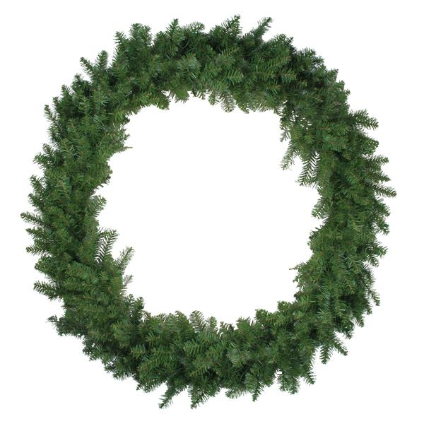 Northern Pine Artificial Christmas Wreath - 48-in - Green