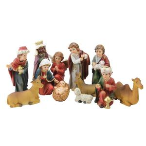 Northlight Traditional Religious Christmas Nativity Set - 12 Pieces