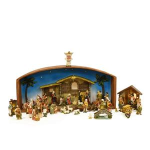 Northlight Christmas Nativity Village Set with Holy Family - 52-Piece