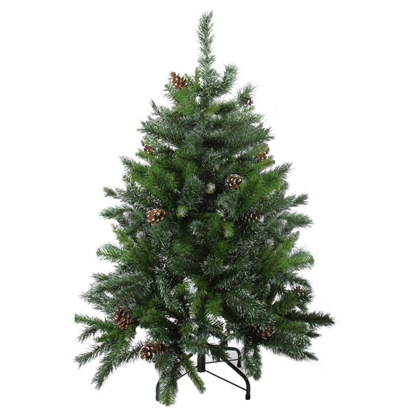 Northlight Artificial Pine Christmas Tree with Pinecones - Green