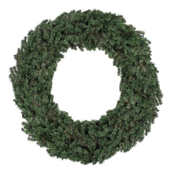 Northlight Canadian Pine Artificial Christmas Wreath - 60-in - Green