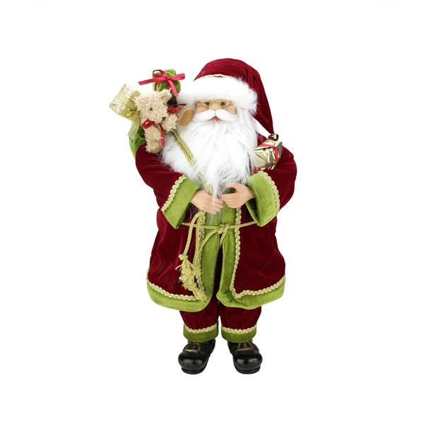 Northlight Santa Claus Christmas Figure - 24-in - Multicoloured