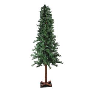 Northlight Traditional Woodland Alpine Artificial Christmas Tree - 70-ft - Green