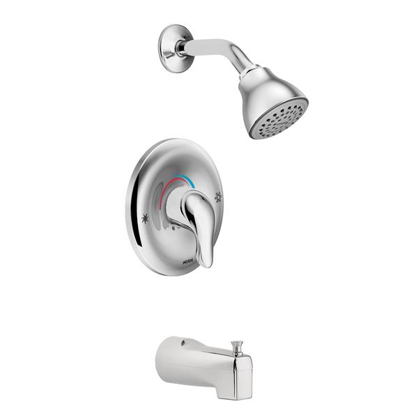 Moen Chateau Posi-Temp(R) Tub/Shower - Chrome (Valve Sold Separately)