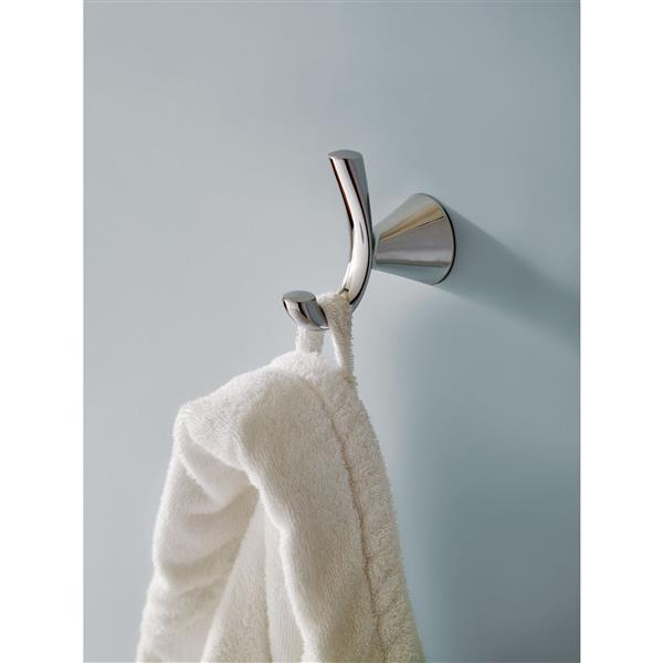 Moen Glyde Double Robe Hook - Brushed Nickel