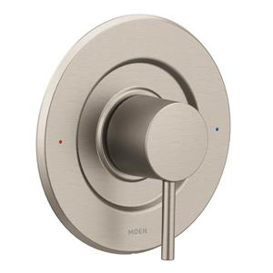 Garniture de valve Moen Align Posi-Temp , nickel brossé (valve vendue séparément)