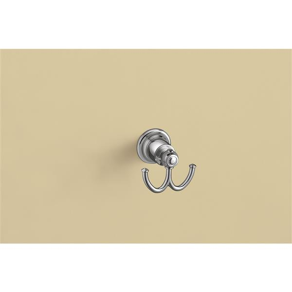 Moen Kingsley Double Robe Hook - Chrome