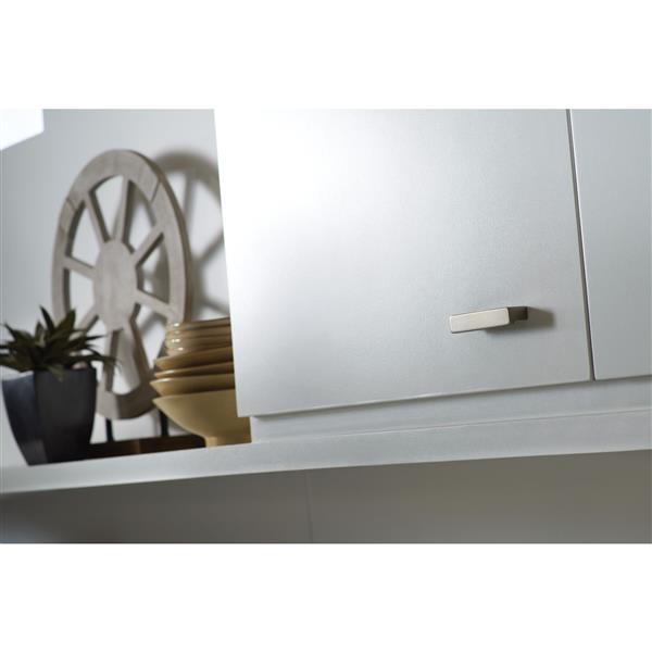 Moen  90 Degree Drawer Pull - Brushed Nickel