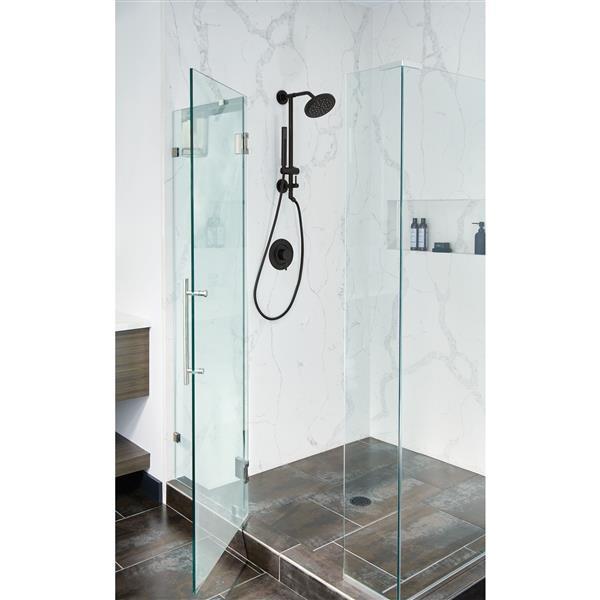 Moen Align Posi-Temp(R) Tub/Shower Valve Only - Matte Black (Valve Sold Separately)