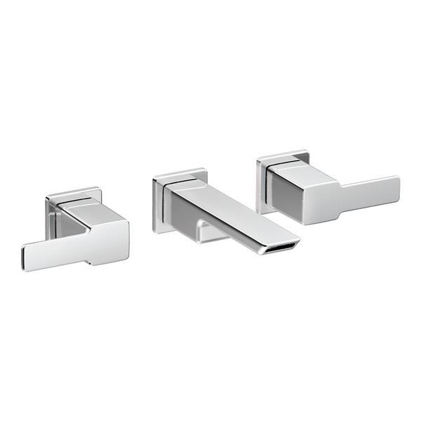 Moen Moen 90 Degree Wall Mount Bathroom Faucet - Two-Handle - Chrome TS6730 (ON-330696900) photo