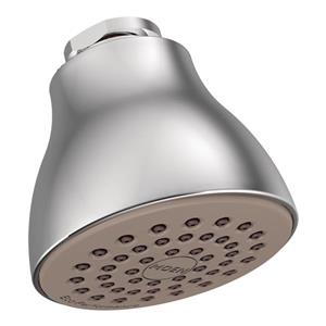 Moen Eco-Performance 2-1/2-in Diameter Showerhead - One Function - Chrome