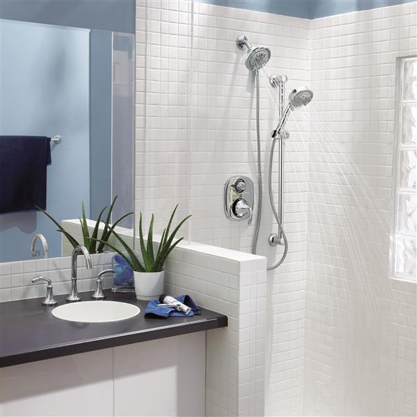 Douche à main Moen Eco-Performance, chrome