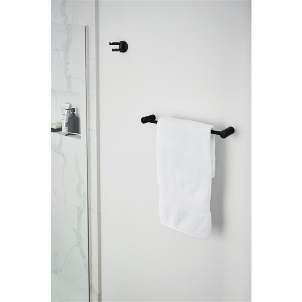 Moen Align 18-in Towel Bar - Matte Black