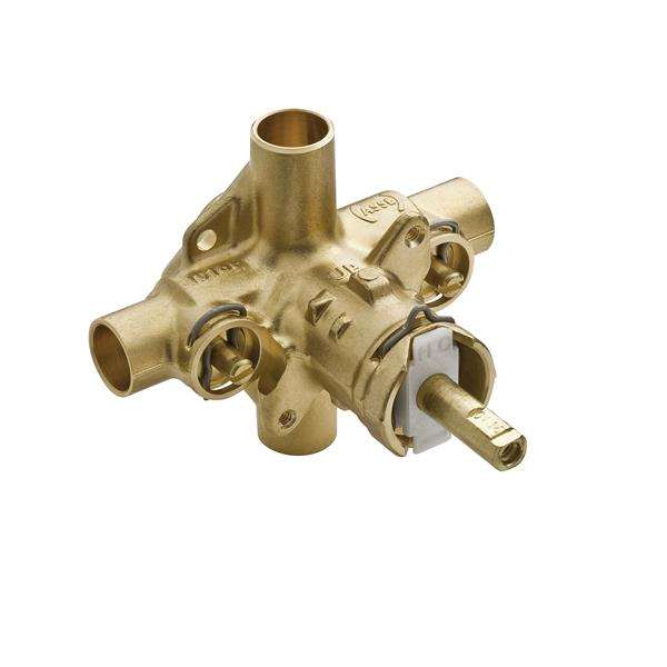 Moen M-PACT Valve Posi-Temp(R) 1/2-in Cc Connection