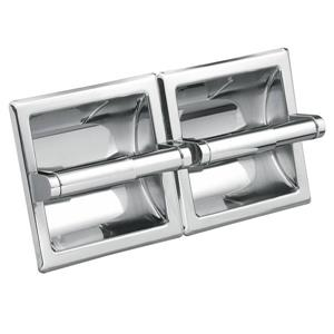 Porte-papier double Moen, chrome