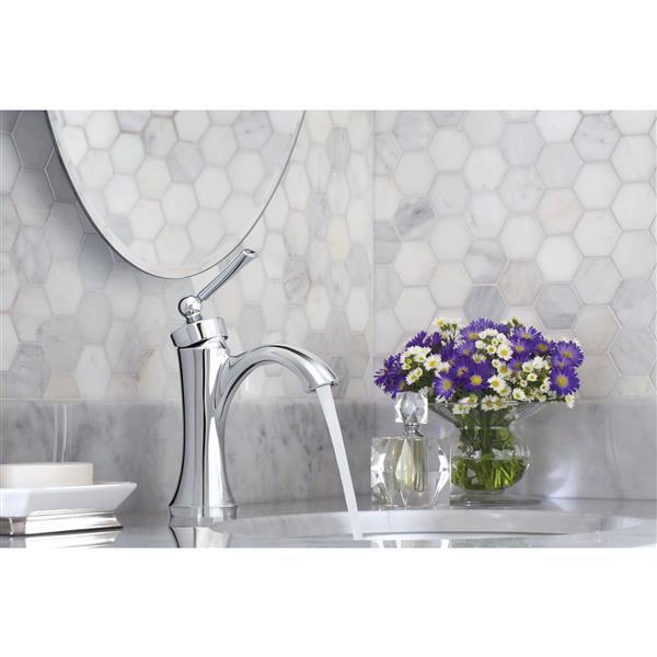 Moen Wynford Bathroom Faucet - One-Handle - Brushed Nickel