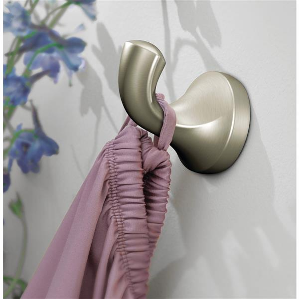 Moen EVA Single Robe Hook - Brushed Nickel