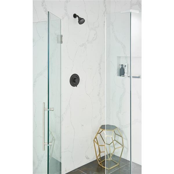 Moen Align Posi-Temp(R) Shower Only - Matte Black (Valve Sold Separately)