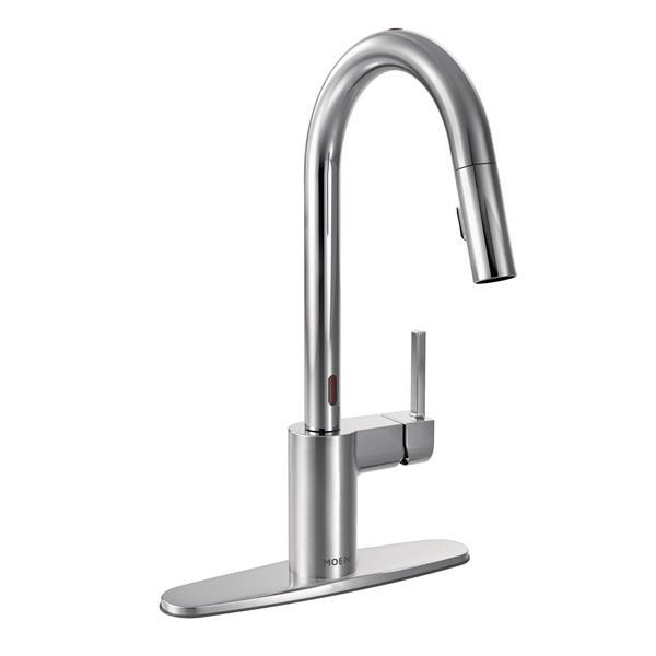 Moen Align Kitchen Faucet One Handle Pulldown Chrome 7565ec Rona