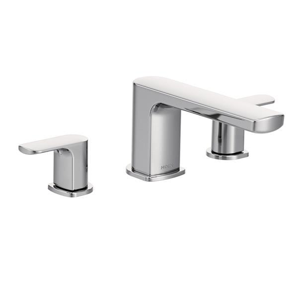 Moen Rizon Roman Tub Faucet - Two-Handle - Chrome (Valve Sold Separately)
