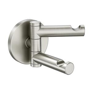 Moen Align Double Robe Hook - Brushed Nickel
