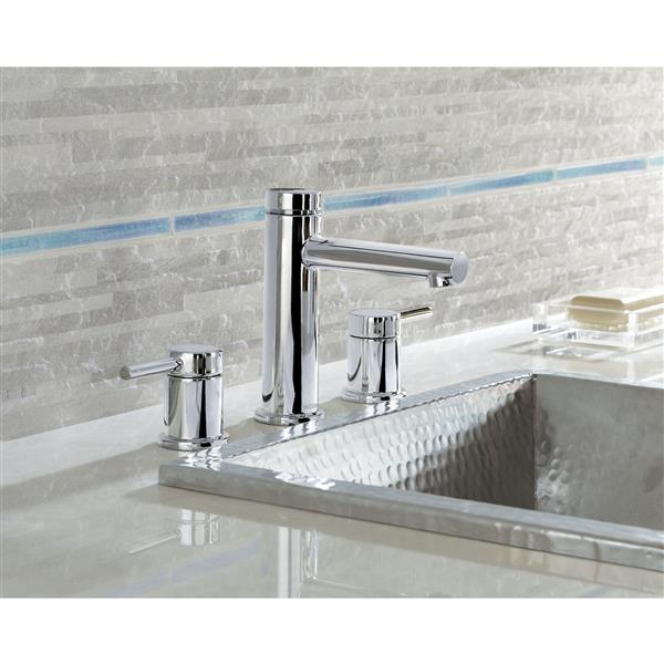 Moen Align Bathroom Faucet - Two-Handle - Chrome (Valve Sold Separately)